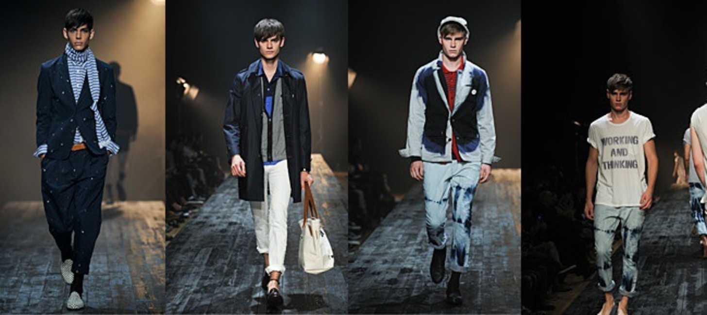 2013 S/S ''FACTOTUM'' collection theme is ''Working and Thinking''.